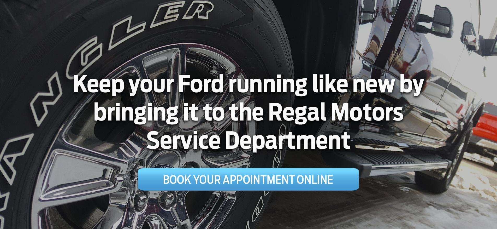 Regal Motors Service Department - Rosetown SK