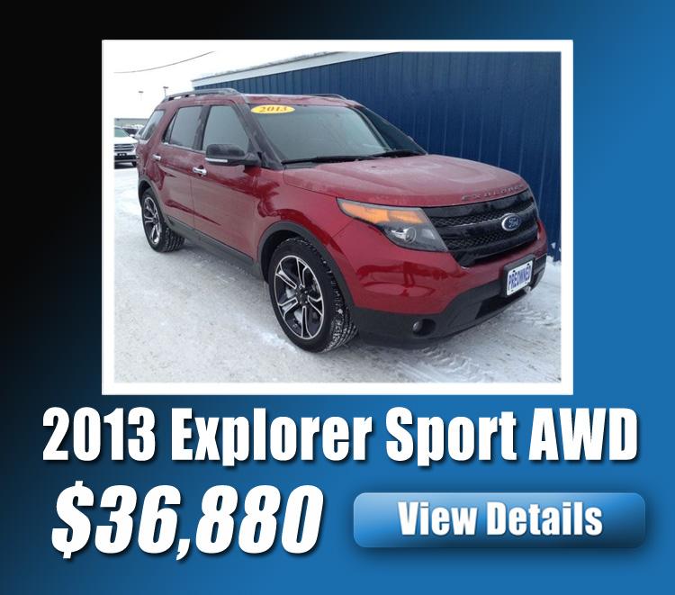 2013 Explorer Sport