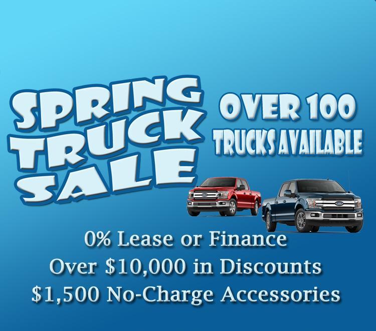 Spring Truck Sale F150