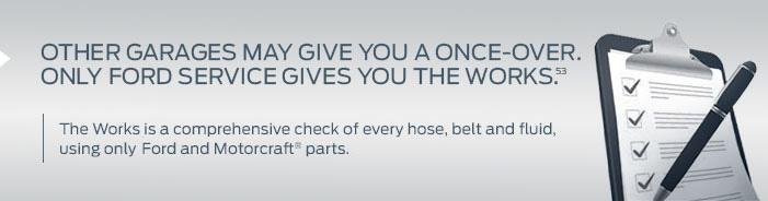 Ford Gives You The Service You Want