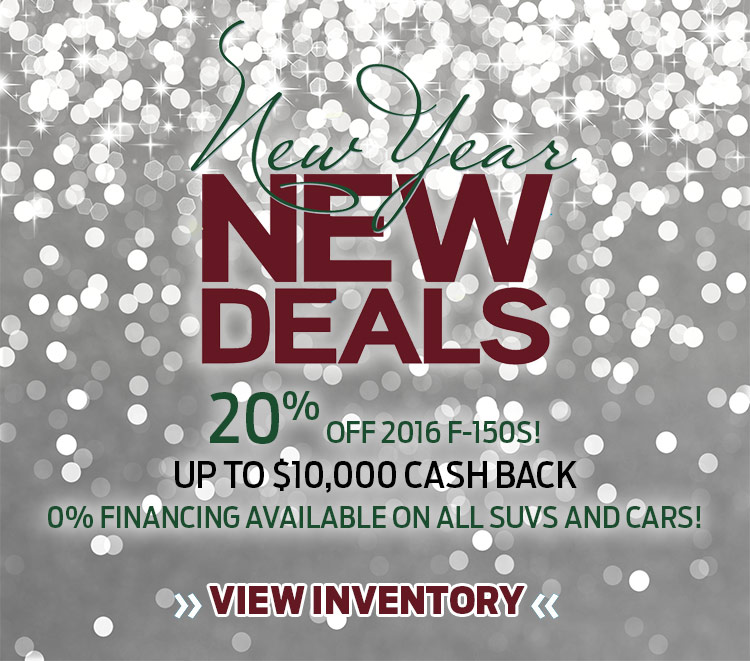New Year New Deals at Zender Ford