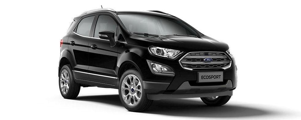 Novo EcoSport Cores