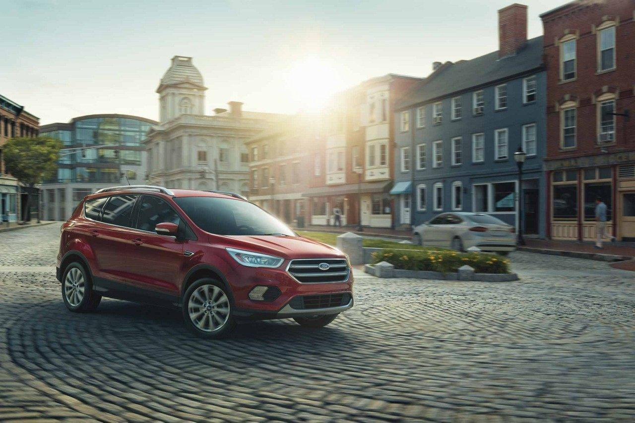 Available driver assistance features on the 2018 Ford Escape
