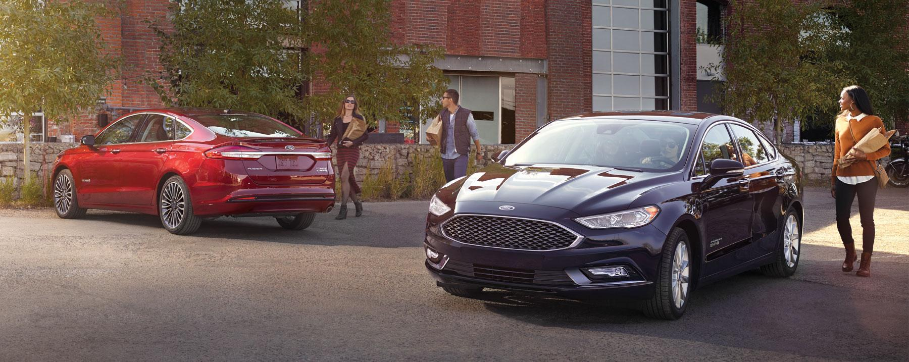 2018 Ford Fusion Model Page Overview