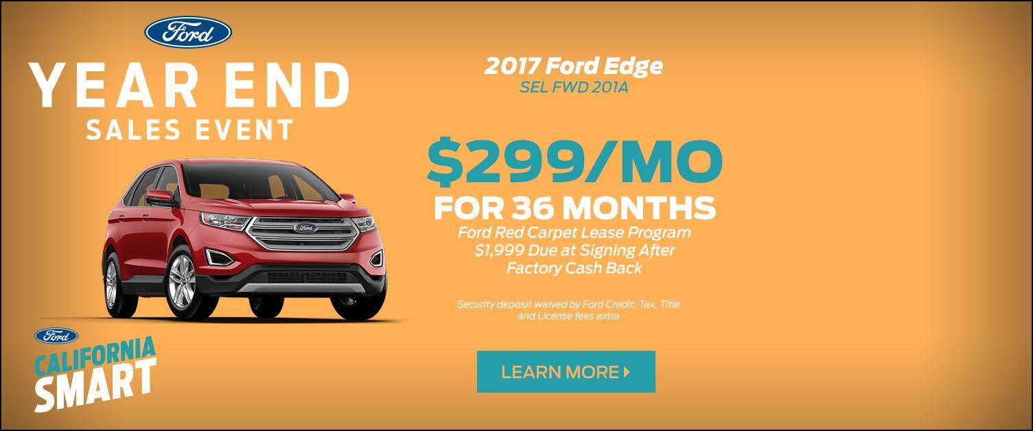 2017 Edge Lease