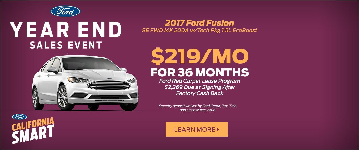 2017 Fusion Lease