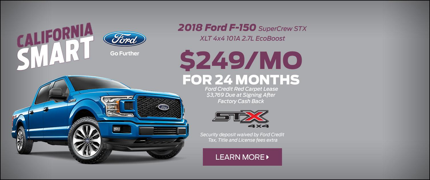 2018 Ford STX Lease Special