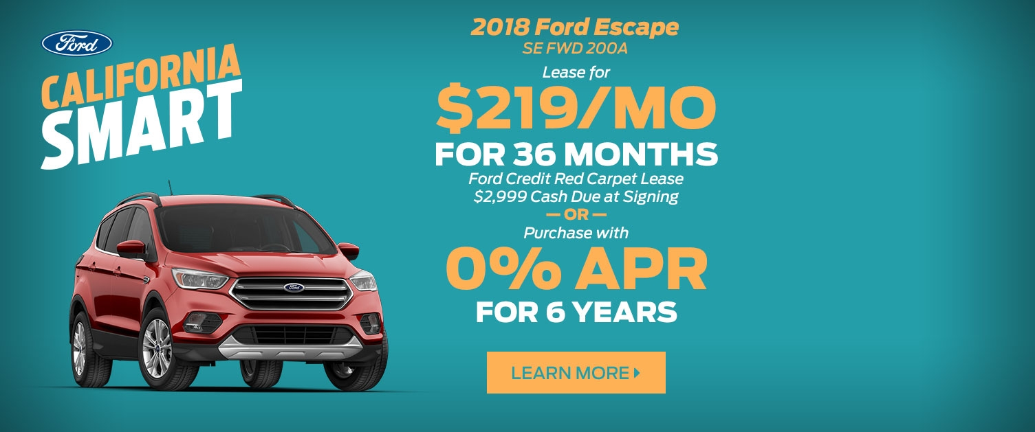Ford Escape Offer