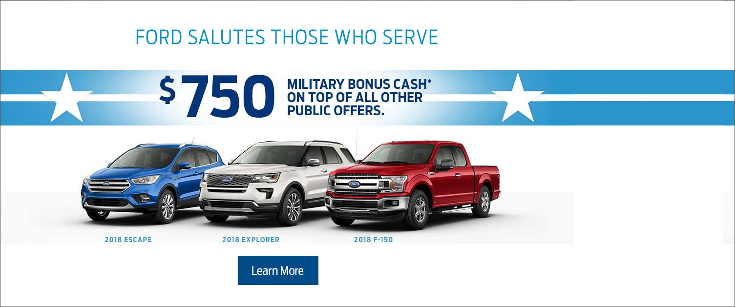 $750 Military Appreciation Bonus Cash