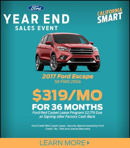 2017 Escape Lease