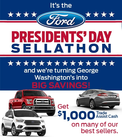 Trade Assist Presidents' Day Sellathon Offer
