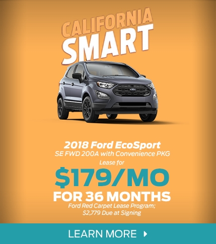 Ford EcoSport Lease Offer