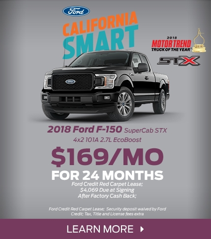 Ford F-150 STX Lease Offer