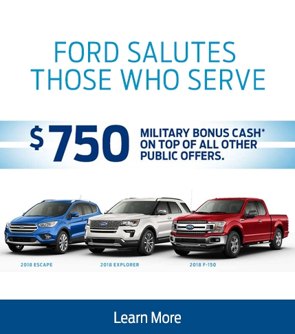 $750 Military Appreciation Bonus Cash