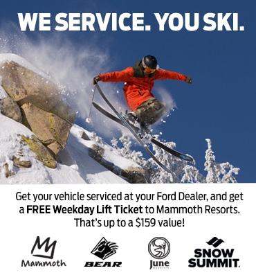 Mammoth Ski for Free!