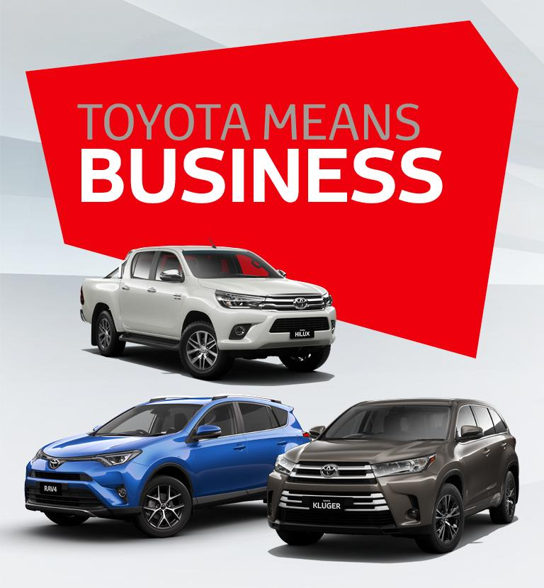 Toyota Means Business