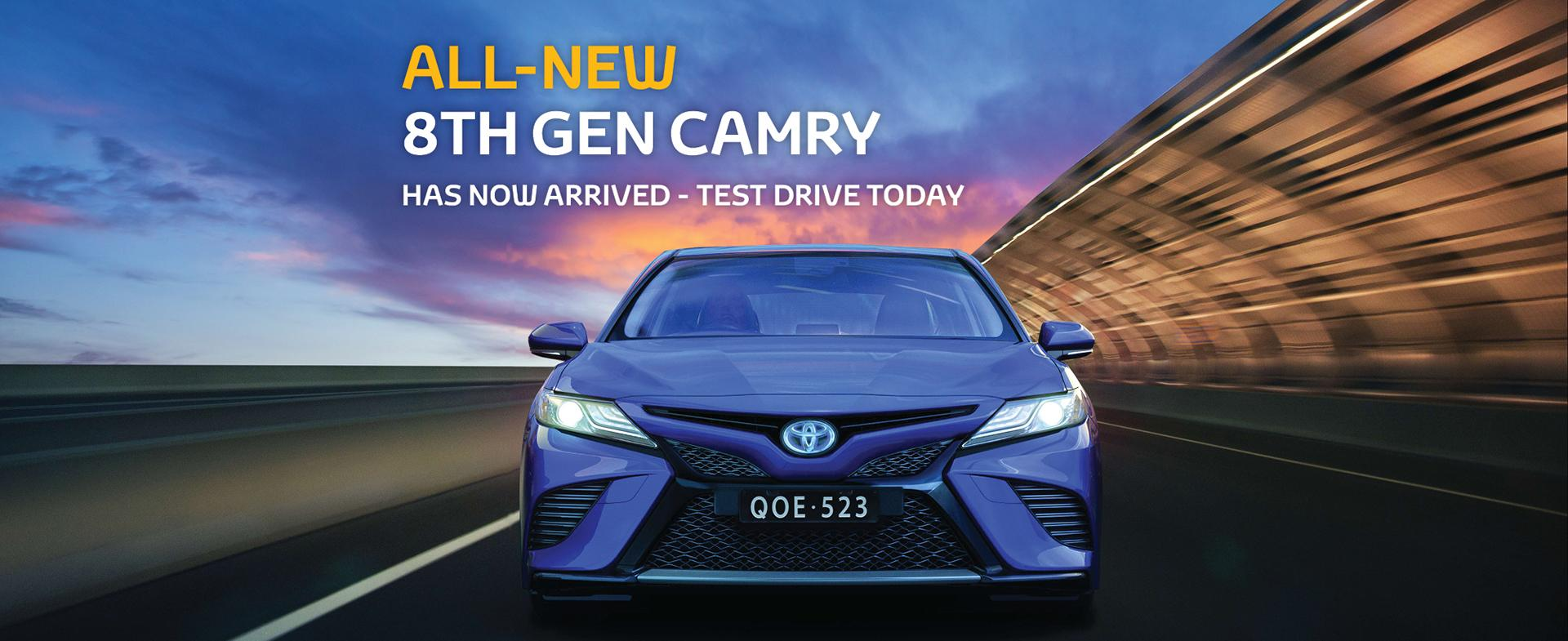 New Camry. Queensland Toyota Dealer   Oldmac Toyota Springwood