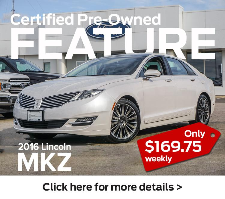 2016 MKZ Lincoln