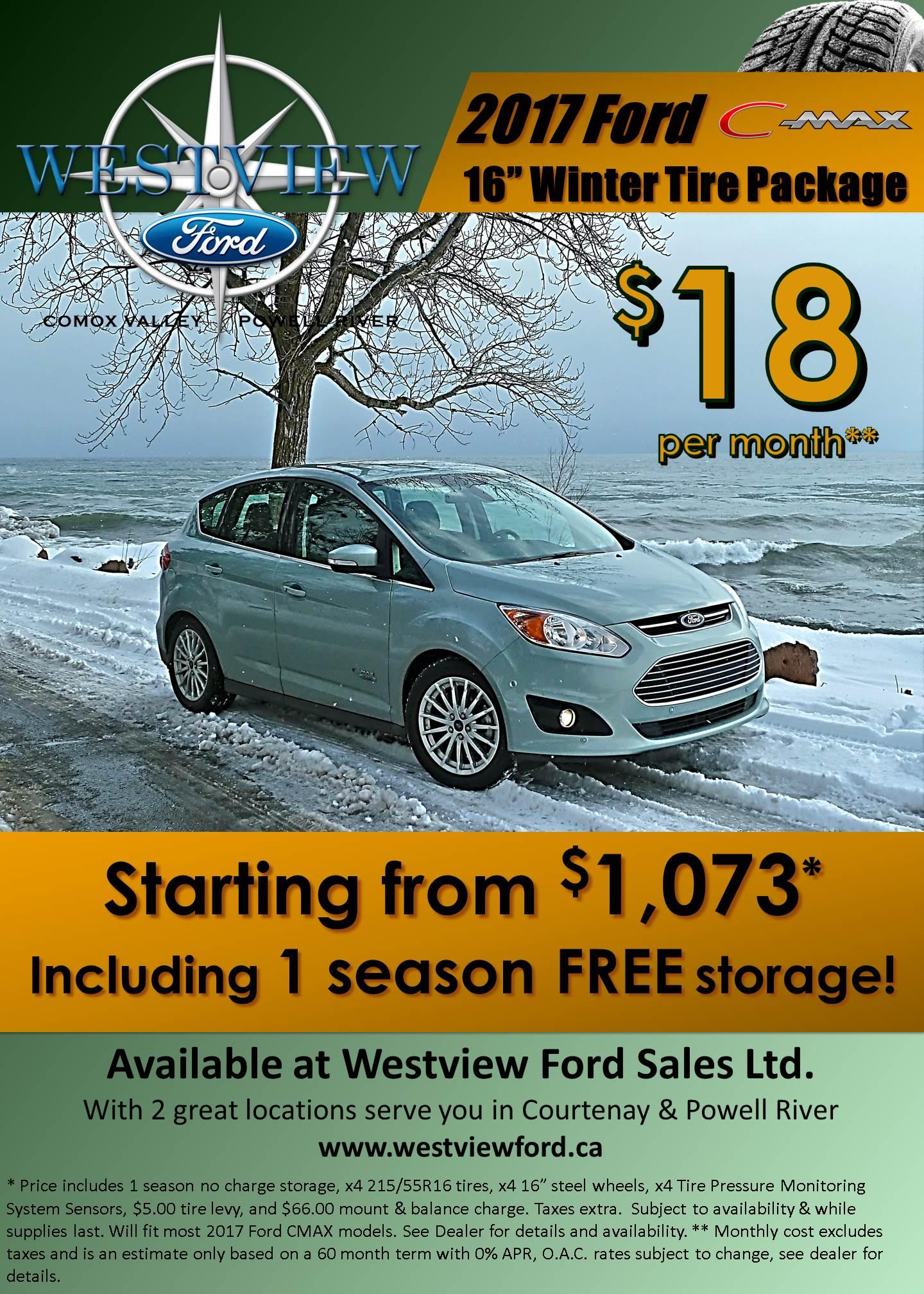2017 C-Max Winter Safety Package - Westview Ford