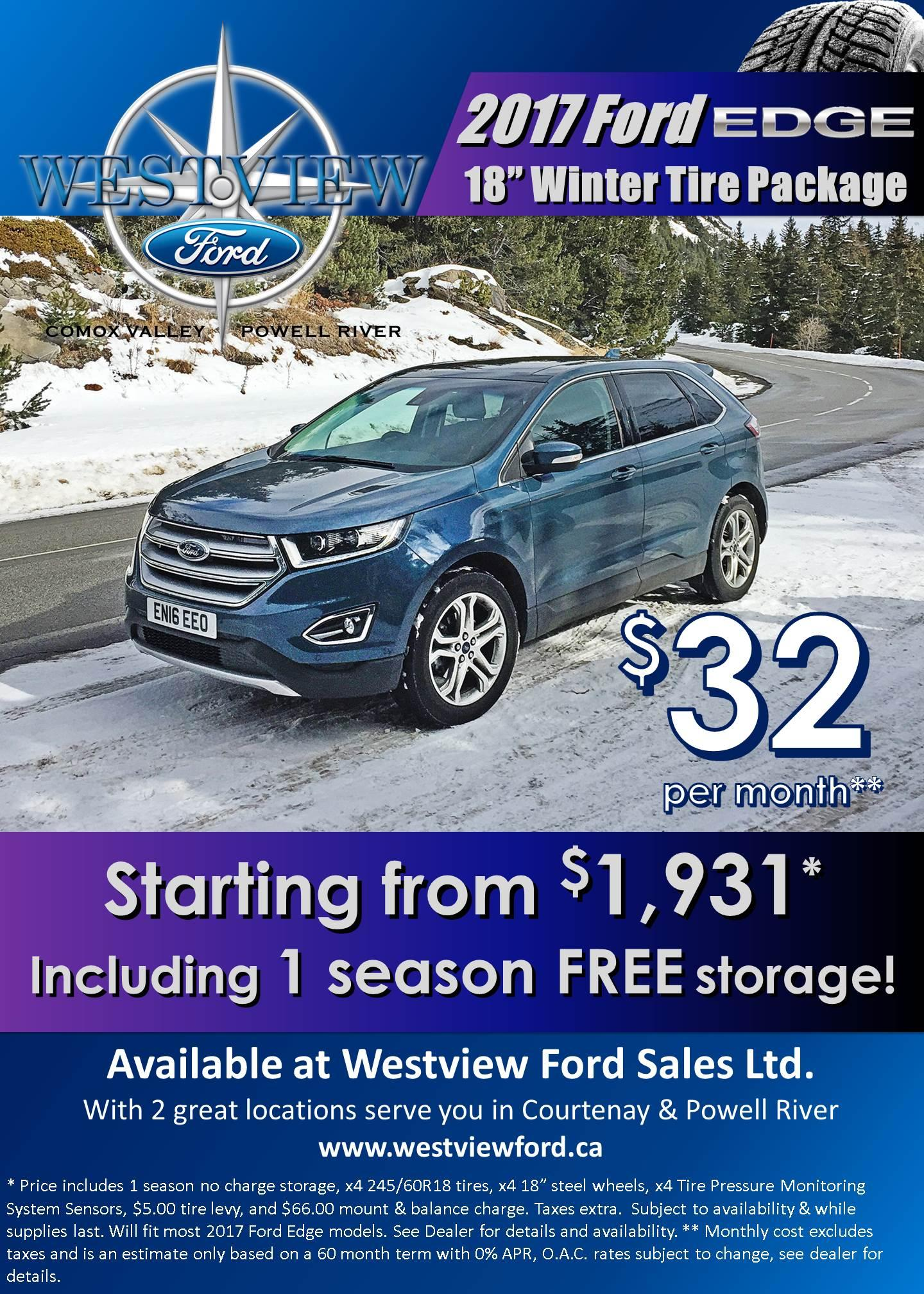 2017 Edge Winter Safety Package - Westview Ford