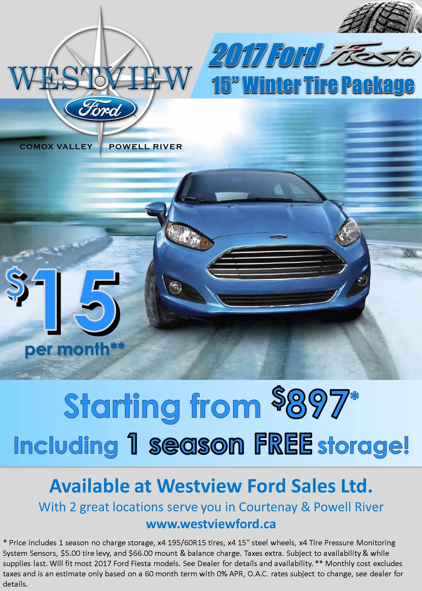 2017 Fiesta Winter Safety Package - Westview Ford