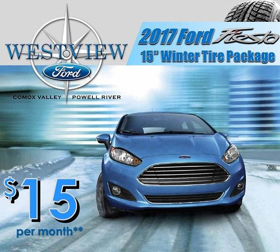 Ford Fiesta Winter Safety pacakges Ford Comox, Ford Courtenay, Ford Powell River