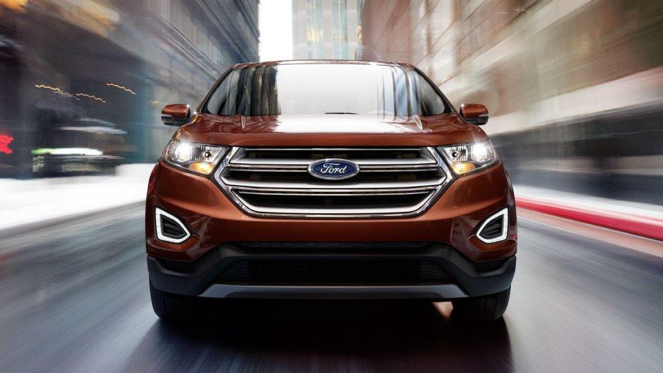 2017 Ford Edge, Projector-beam Halogen Headlights