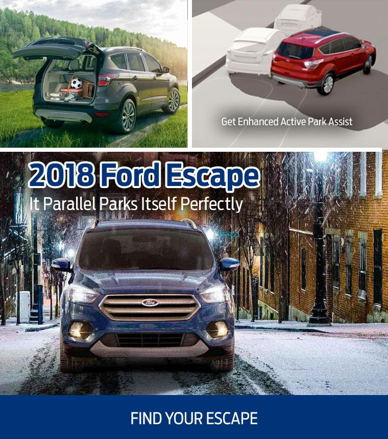 2018 Ford Escape at Westview Ford Courtenay Comox Valley