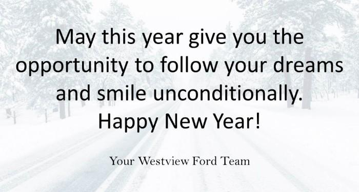 Westview Ford Greeting