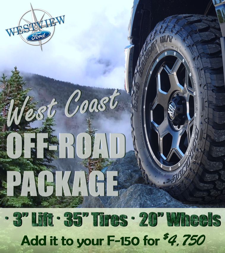 West Coast Off Road Package - Westview Ford Courtenay Comox Valley