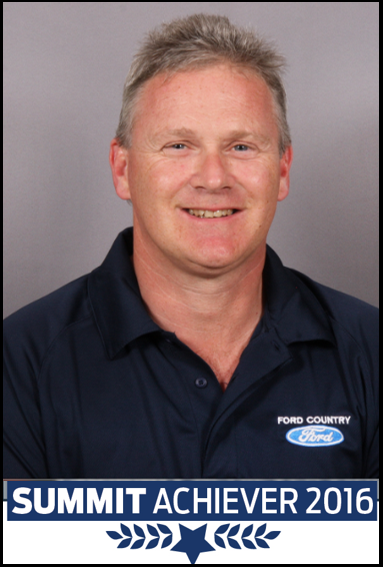 Peter Britain, 2016 Summit Achievers Winner Westview Ford