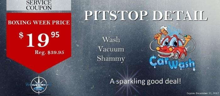Pitstop Detail Service Coupon