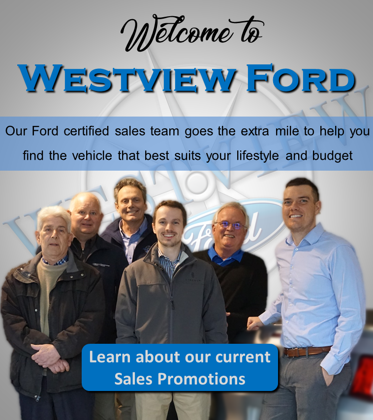Welcome to Westview Ford!