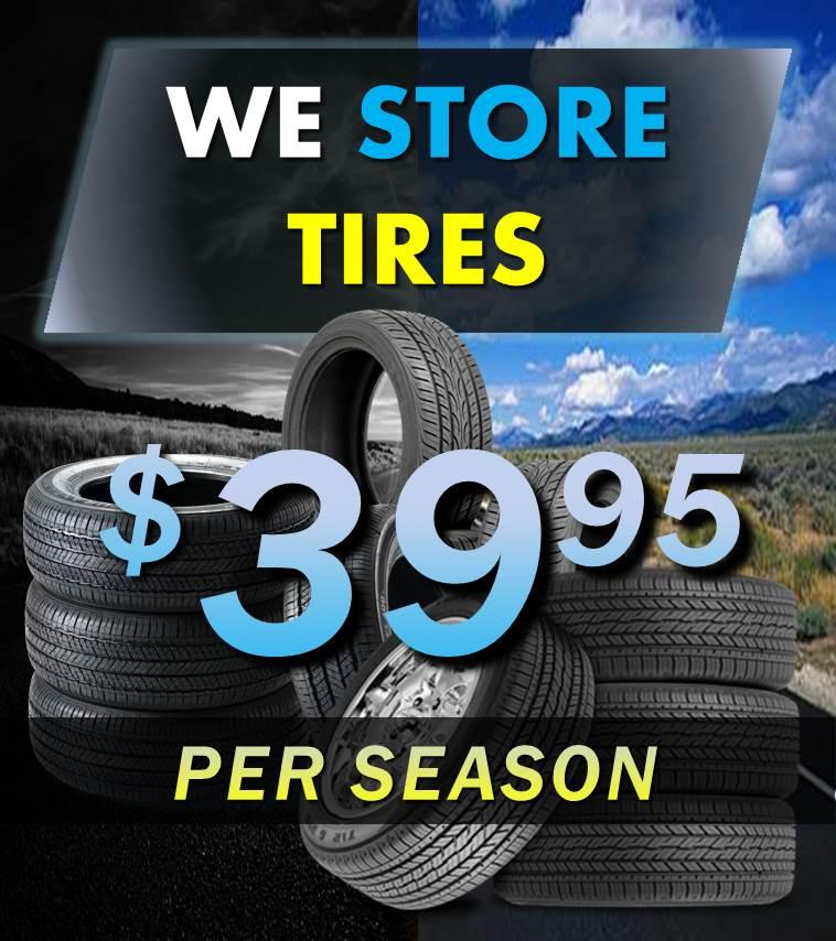 Tire Storage Mobile