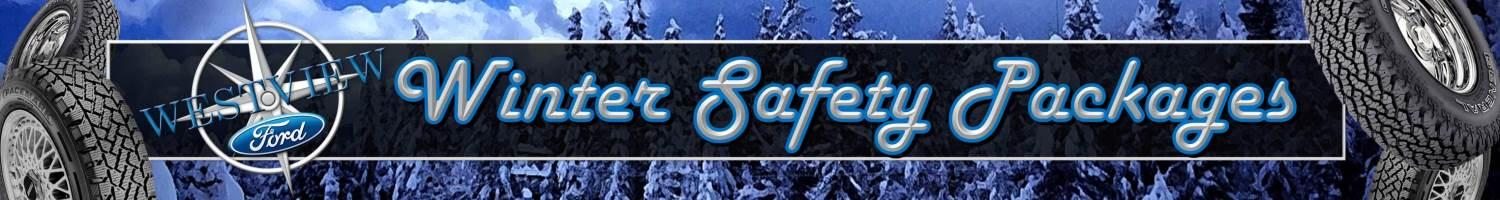 Winter Safety Packages Westview Ford