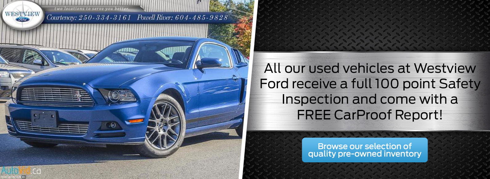 Pre-Owned Inventory at Westview Ford!