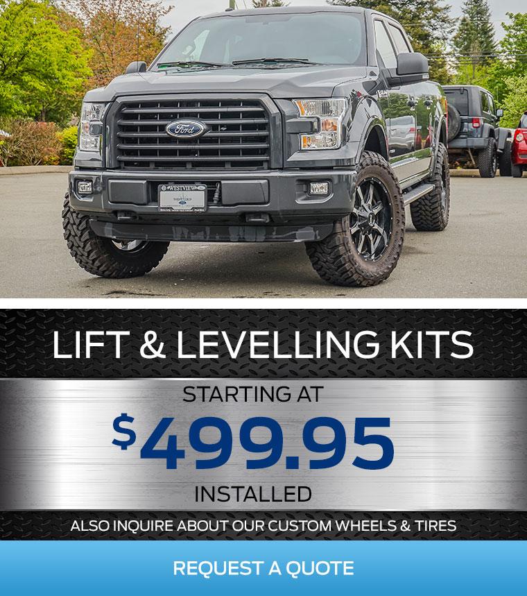 Lift & Levelling Kits