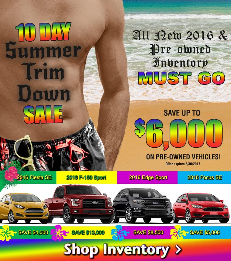 10 Day Summer Trim Down Sale