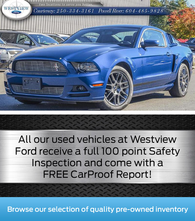 See our Pre-Owned Inventory at Westview Ford!
