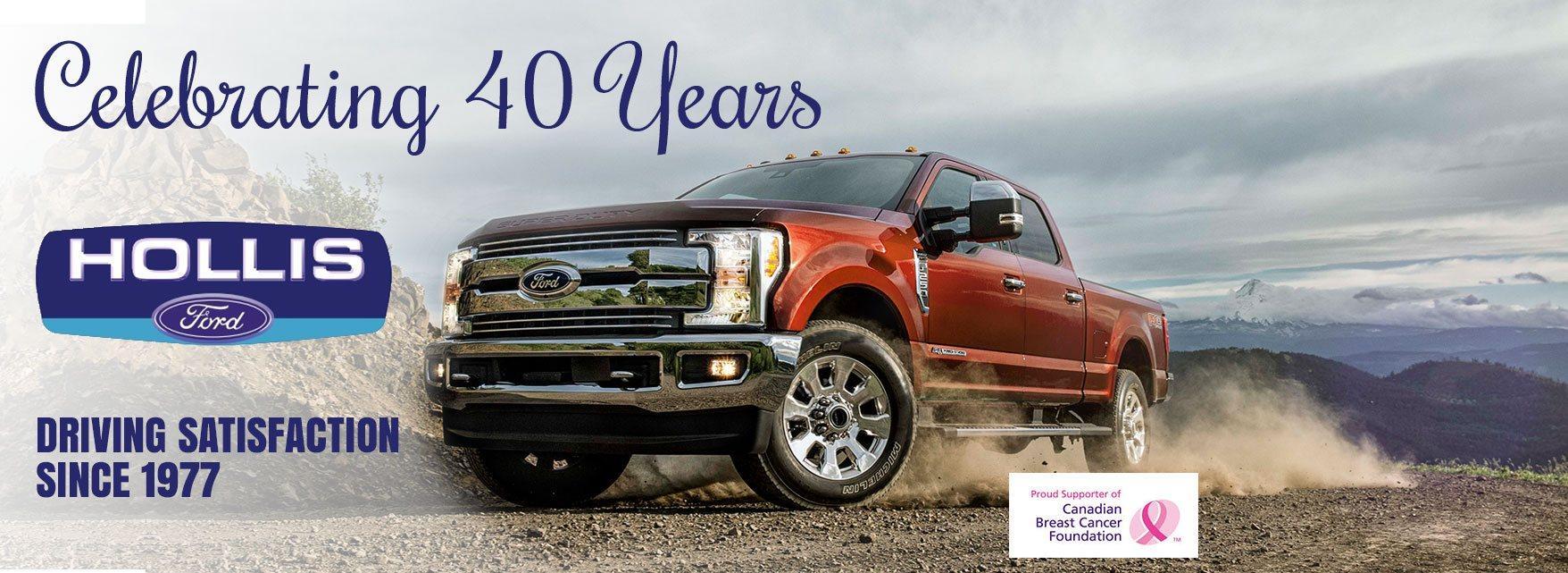 40 years celebration