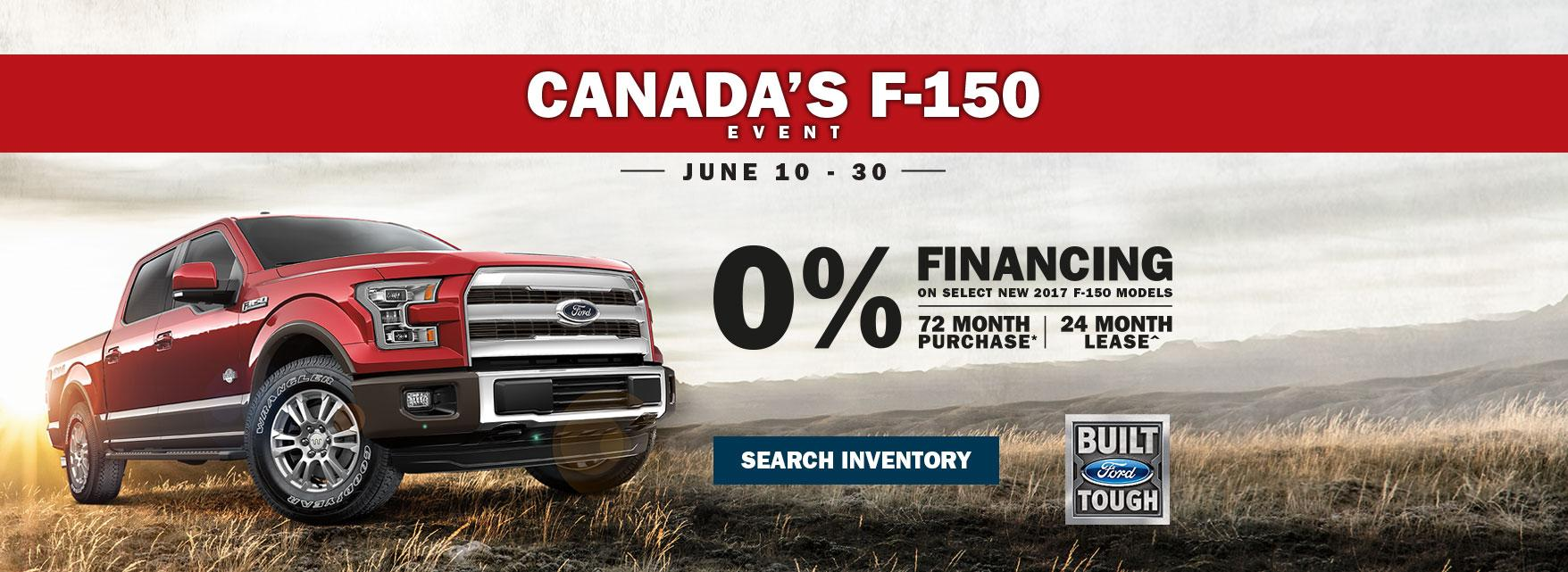 0% Financing F-150