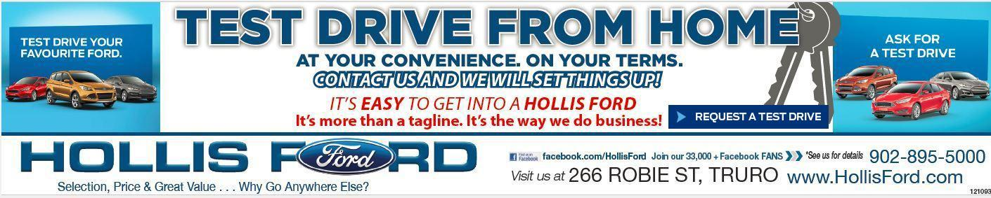 Test Drive From Home - Hollis Ford
