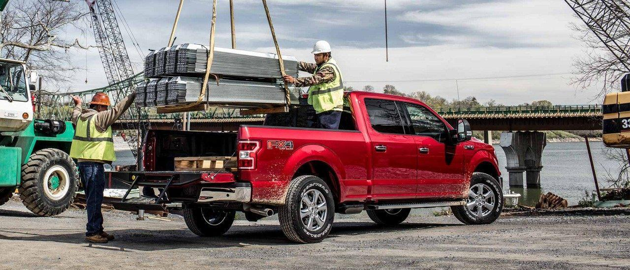 2018 FORD F-150: BUILT FORD TOUGH.