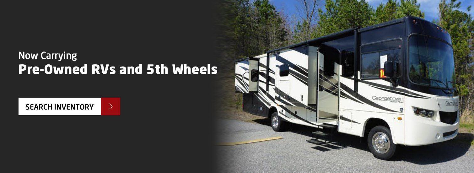 Pre-Owned RVs and Fifth Wheels