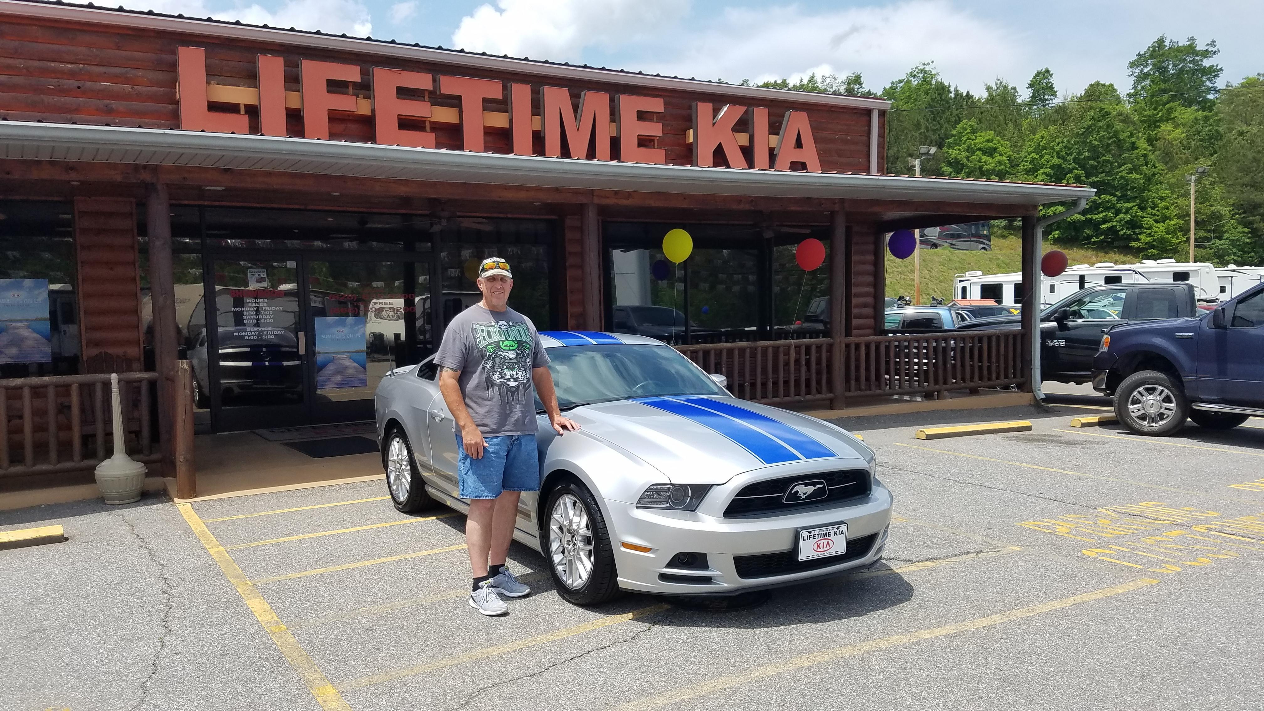 Lifetime KIA Happy Customer
