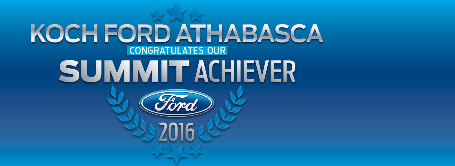 Summit Koch Ford Athabasca 2