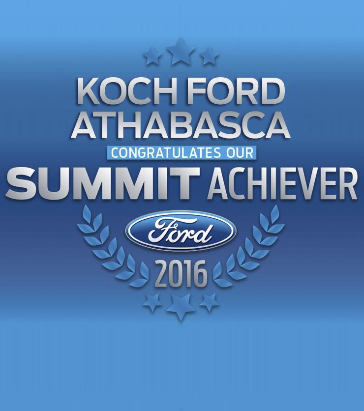 Summit Koch Ford Athabasca