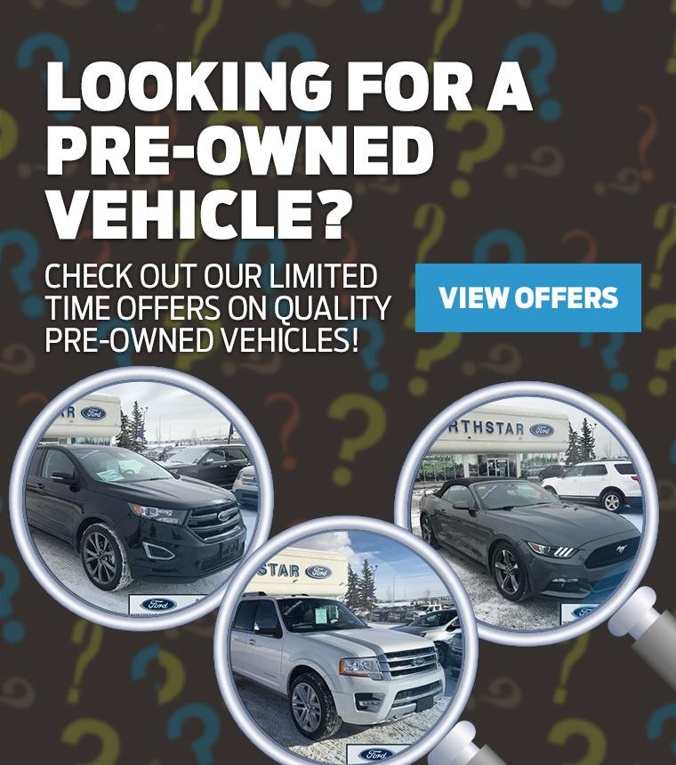 Pre-Owned Vehicles Northstar Ford Cochrane