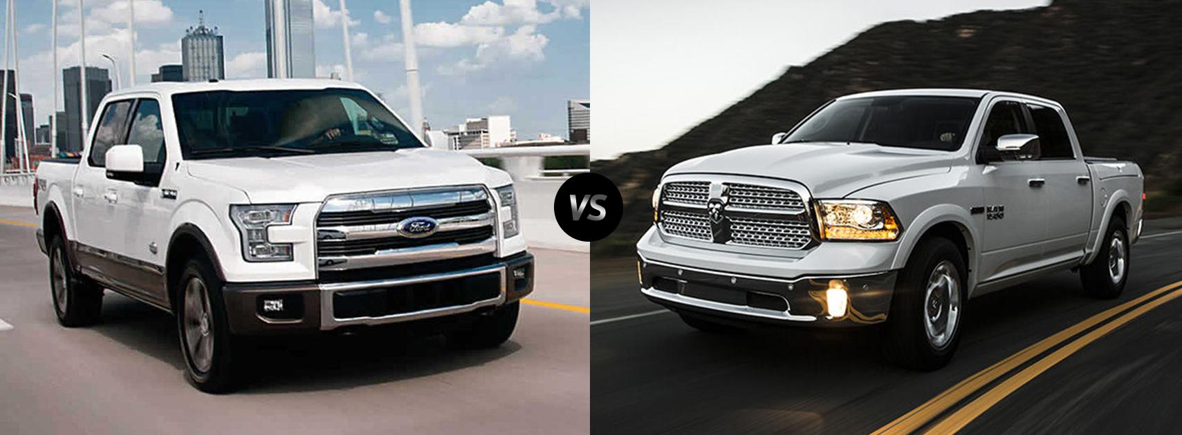 2020 Ford F-150 vs. 2020 Dodge Ram 1500 Comparison