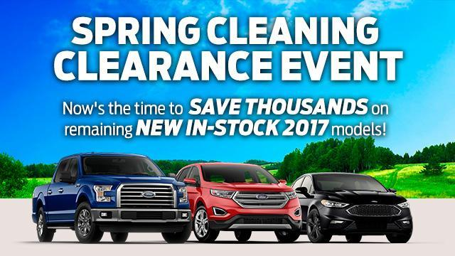 2017 Spring Clearance Coastal Ford Burnaby